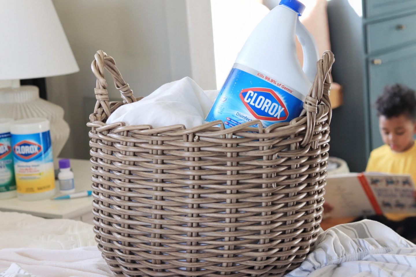 Fight cold and flu with Clorox