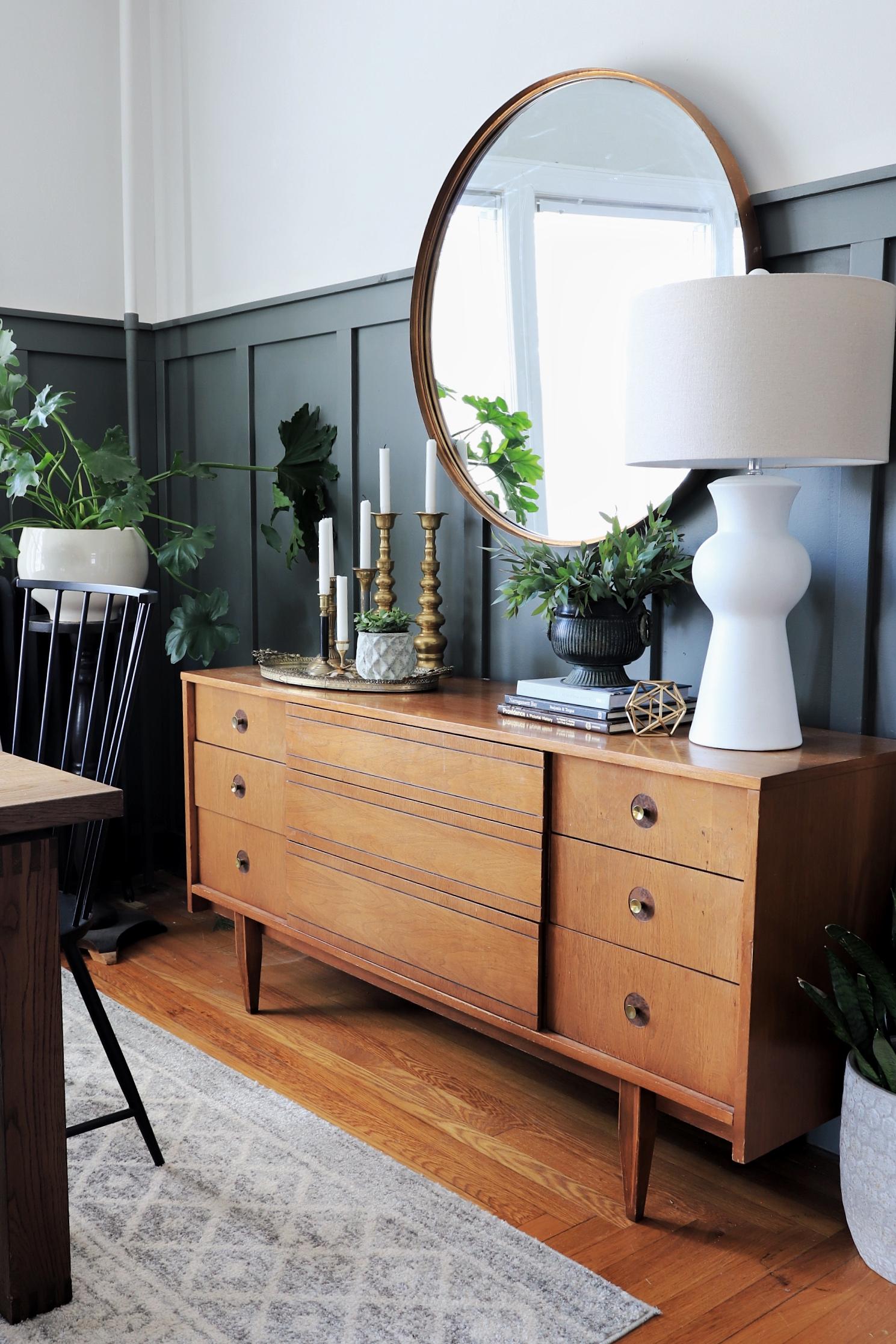VIntage dresser dining room