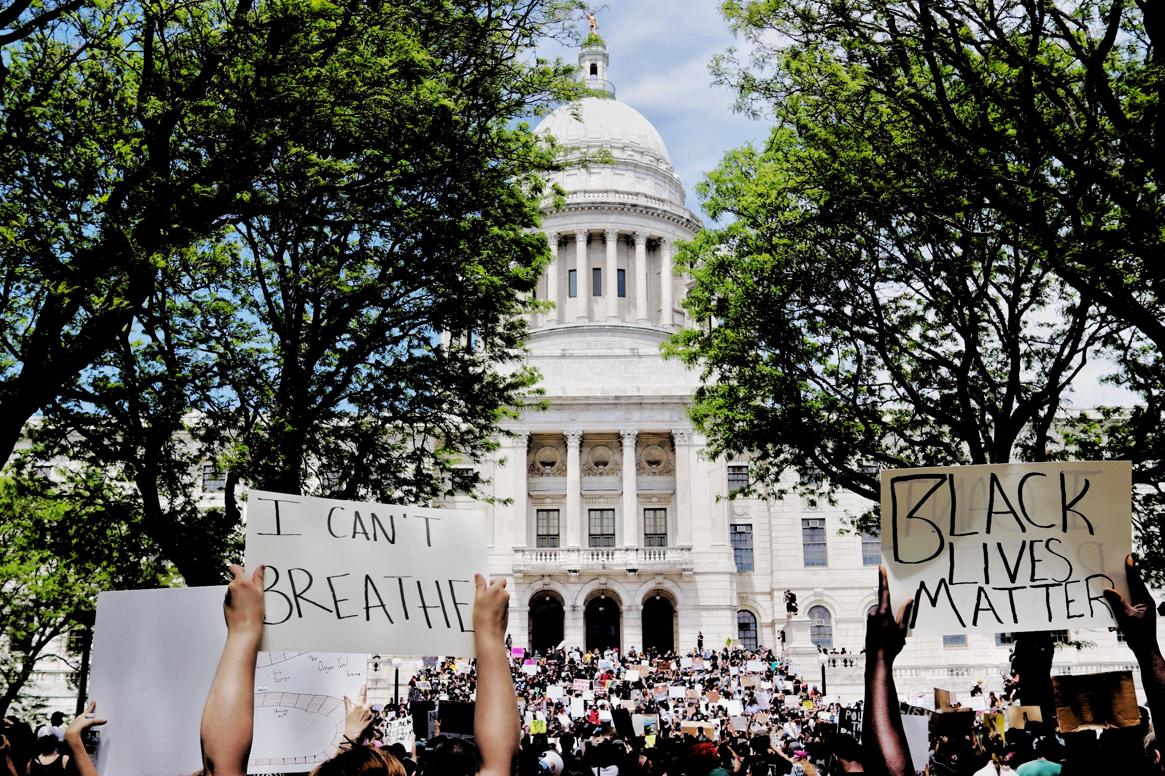 Rhode Island State House Black Lives Matter Protest 5.30.20