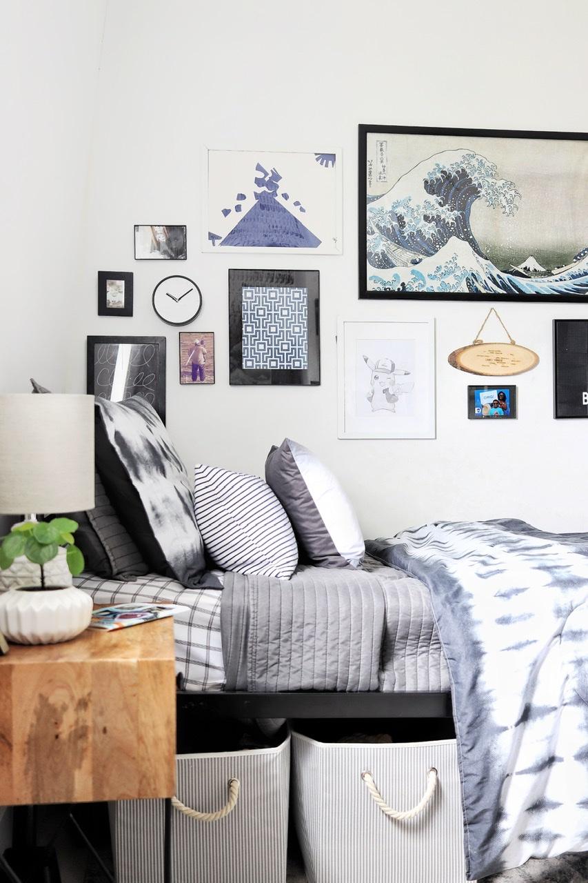 Tween Boy Tie Dye Bedroom