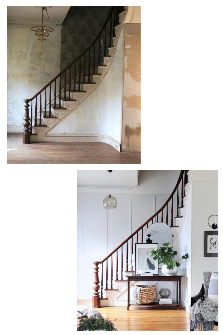 Victorian Staircase Makeover